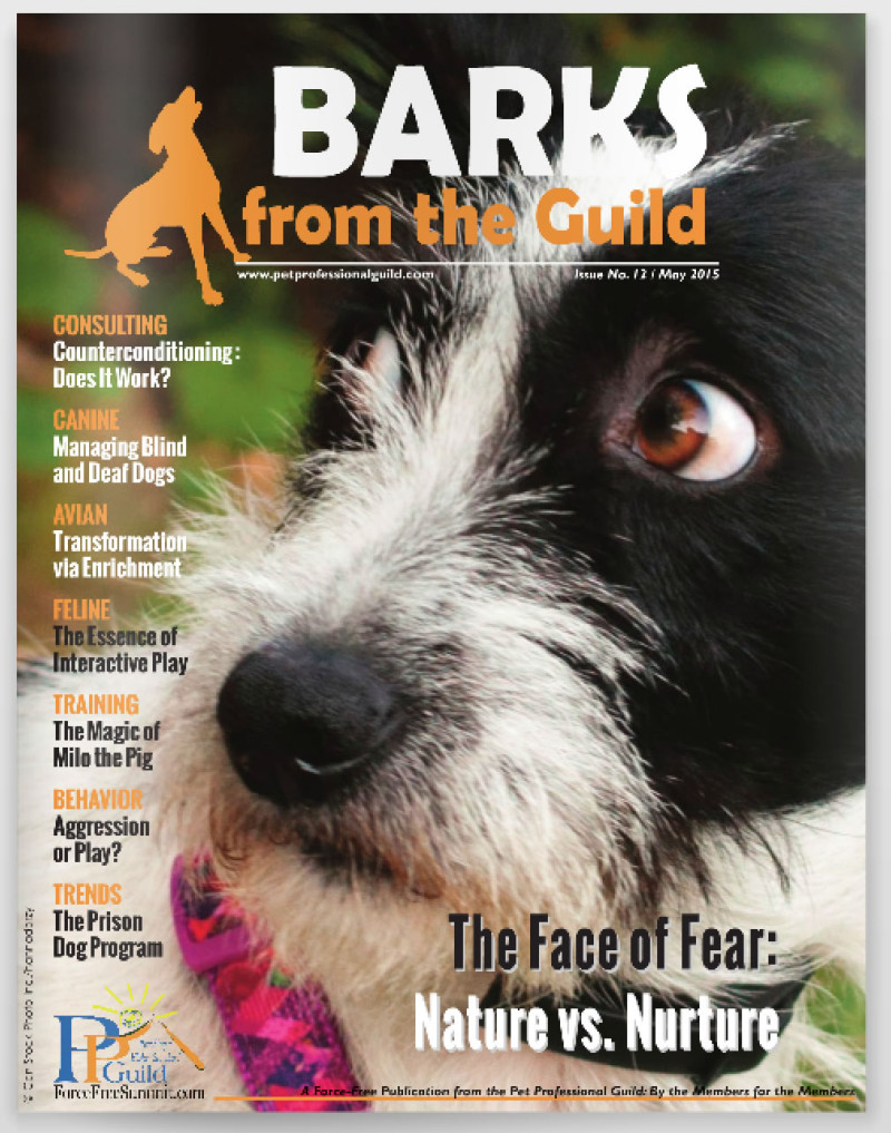 May issue of BARKS from the Guild